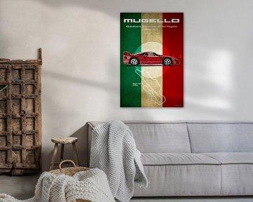 Mugello Vintage F40 von Theodor Decker