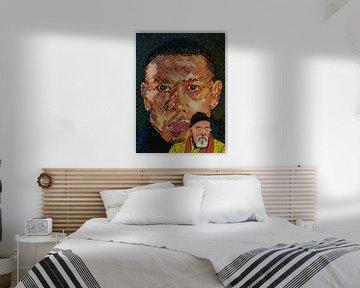 Peinture de Chuck Close