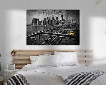 Brooklyn Bridge View von Melanie Viola