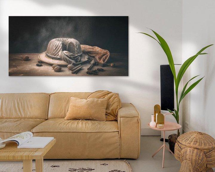 Sfeerimpressie: Stilleven tulband met chocolade van Monique van Velzen