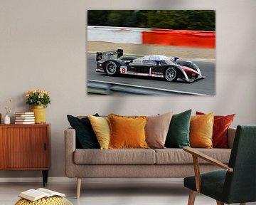 Peugeot 908 HDi FAP LMP1-Rennwagen Sieger von Sjoerd van der Wal