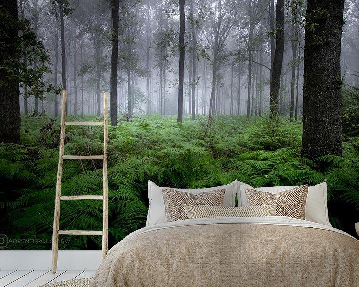 Impression: Forêt mystique sur Robbert Wille