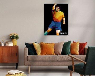 Roberto Carlos popart sur miru arts