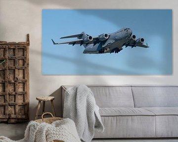 Boeing C-17 Globemaster van Bob de Bruin