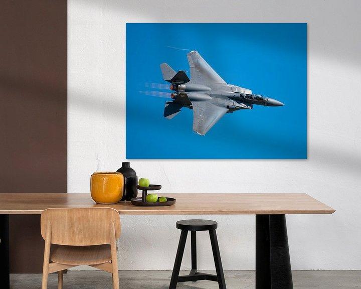 Sfeerimpressie: Strike Eagle F-15 fly by van Bob de Bruin