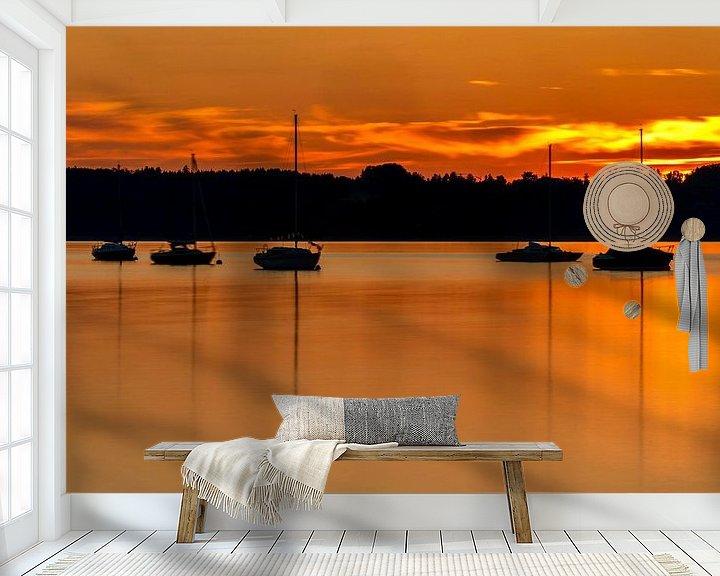 Beispiel fototapete: Starnberger See von Einhorn Fotografie