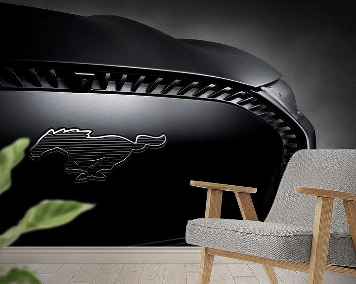 Beispiel fototapete: Ford Mustang Mach-E von Thomas Boudewijn