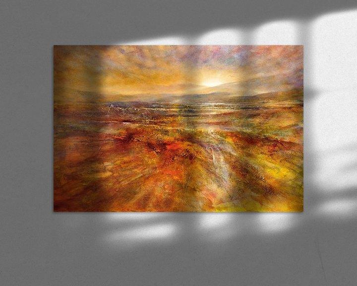 Beispiel: Der Tag erwacht - Sonnenaufgang von Annette Schmucker