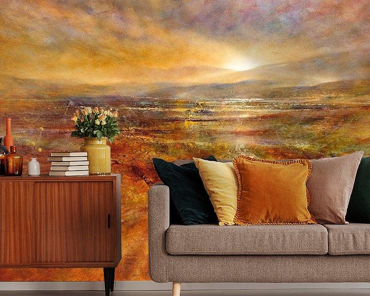 Beispiel fototapete: Der Tag erwacht - Sonnenaufgang von Annette Schmucker