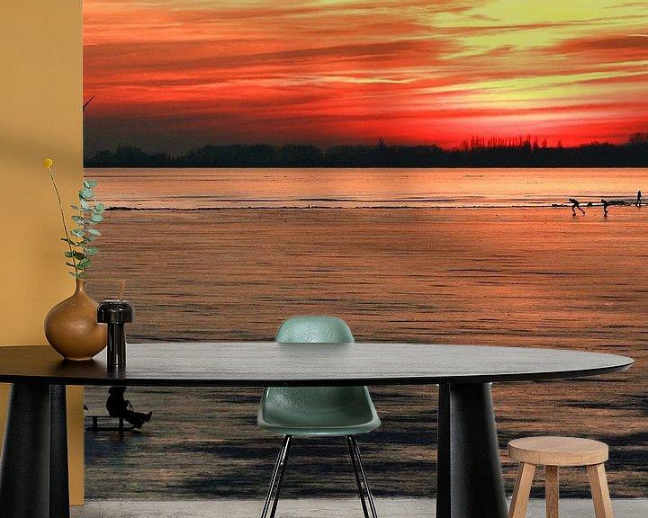 Impression: IJspret bij zonsondergang sur Bob Bleeker