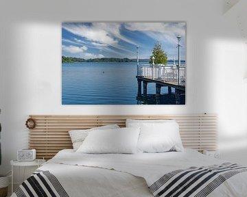 Idylle in Krakau am See,Mecklenburgs merengebied van Peter Eckert