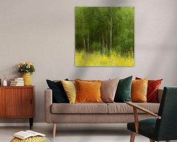 Painterly Forest van Ed van der Reek