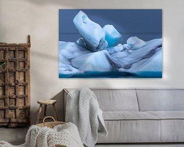 Gletsjers in de Noordelijke IJszee van Thomas Heitz