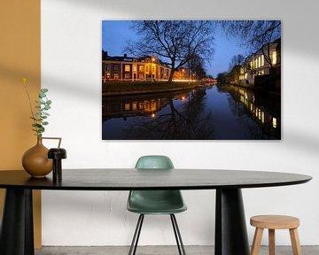 Weerdsingel Oostzijde en achterzijde Gezondheidscentrum Binnenstad in Utrecht von Donker Utrecht