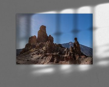 Formation rocheuse sur le plateau du Teide sur Dennis Eckert