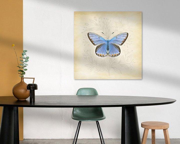 Sfeerimpressie: Icarusblauwtje Vintage van Teuni's Dreams of Reality