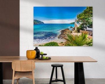 Mallorca, Luxe villa aan strand met idyllisch zeezicht van Alex Winter