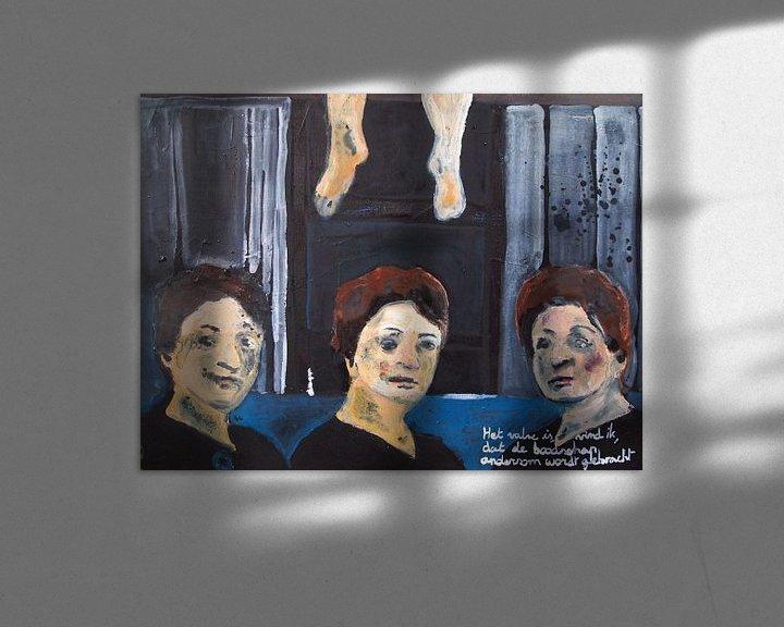 Sfeerimpressie: Het valse is, vind ik, dat de boodschap andersom gebracht wordt van Sandrine Lambert