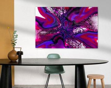 218090 Abstrakte Acrylmalerei von Rob Smit