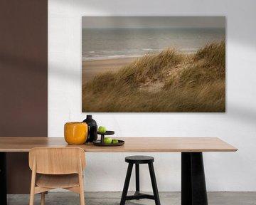 Holländischer Strand von Miranda Geerts