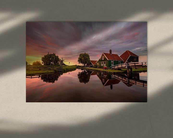 Sfeerimpressie: Sunset evening by the Zaanse Schans van Costas Ganasos