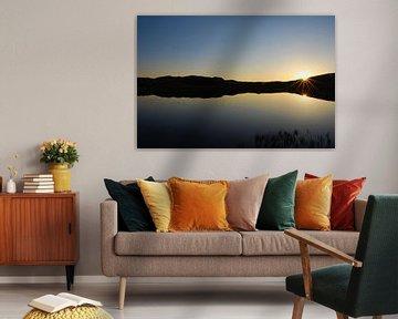 Zonsondergang in lake district sur Marijn Goud