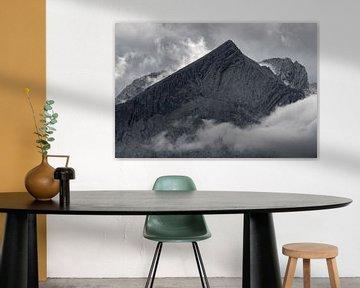 Wolkenstimmung an der Alpspitze