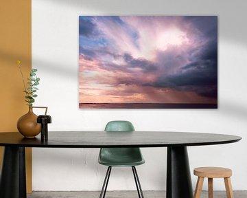 Roze wolk van Sonja Pixels
