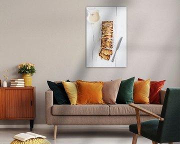 Gâteau aux poires avec glaçage sur Nina van der Kleij