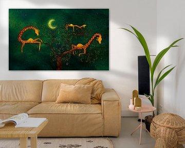 Der Giraffenbaum von Atelier van Saskia