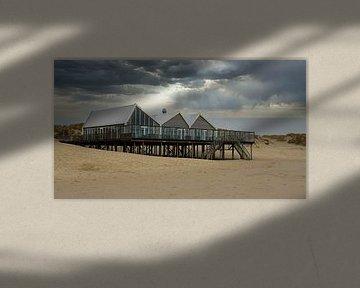 Strandpaviljoen op Texel
