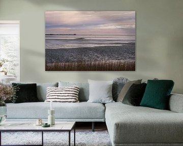 Het IJsselmeer in de winter 3 van Ynze Braaksma