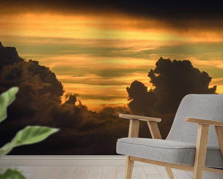Sfeerimpressie behang: Hollandse luchten van Richard Marks