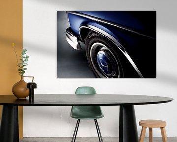 1967 Mercedes-Benz 250SE van Thomas Boudewijn
