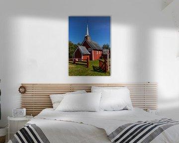 Gløshaug Kerk, Noorwegen van Adelheid Smitt