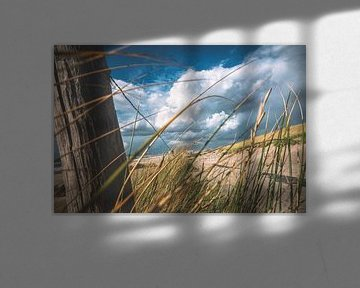 Stormachtige zeewind aan de Hollandse kust van Fotografiecor .nl