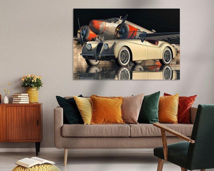 Beispiel: Die Besonderheit des Jaguar XK 120 von Jan Keteleer