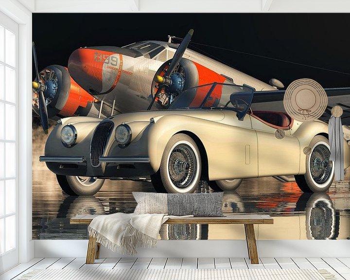 Beispiel fototapete: Die Besonderheit des Jaguar XK 120 von Jan Keteleer