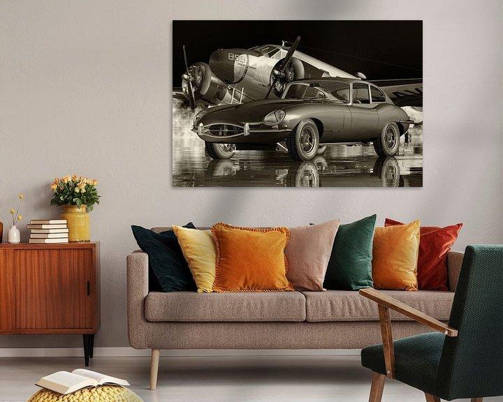 Beispiel: Die Autokultur des Jaguar E-Type aus den 1960er Jahren von Jan Keteleer