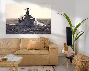 Fregat in de golven - part II von Alex Hiemstra