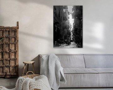 Die engen Gassen von Quartieri Spagnoli, Neapel Italien von photobytommie