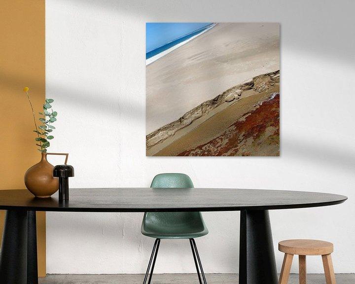 Sfeerimpressie: beach abstract 2 van Leuntje 's shop