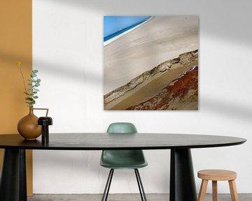 beach abstract 2 sur Leuntje 's shop