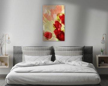 rote Tulpen van Dagmar Marina