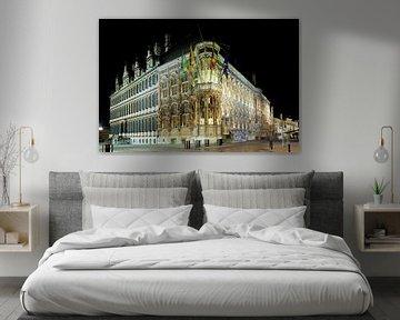 Das Rathaus von Gent von Erik Vergunst