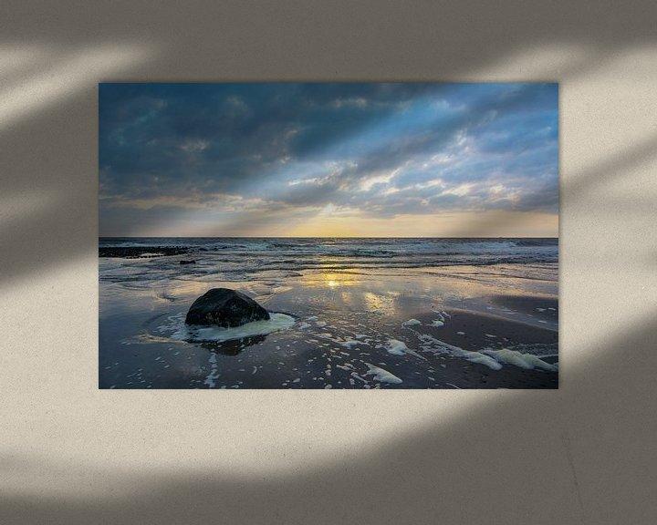 Sfeerimpressie: Zonsondergang in Nederland van Arjen Schippers