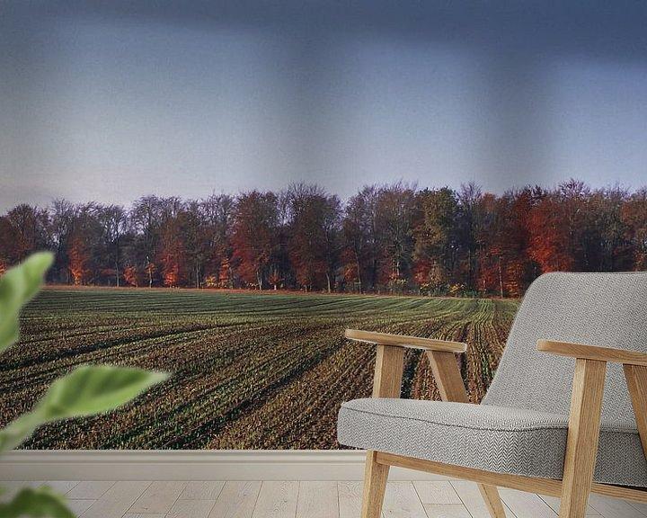 Sfeerimpressie behang: Groote Heide 1 van Deshamer