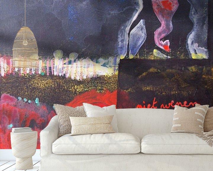 Sfeerimpressie behang: Niet wenen van Sandrine Lambert