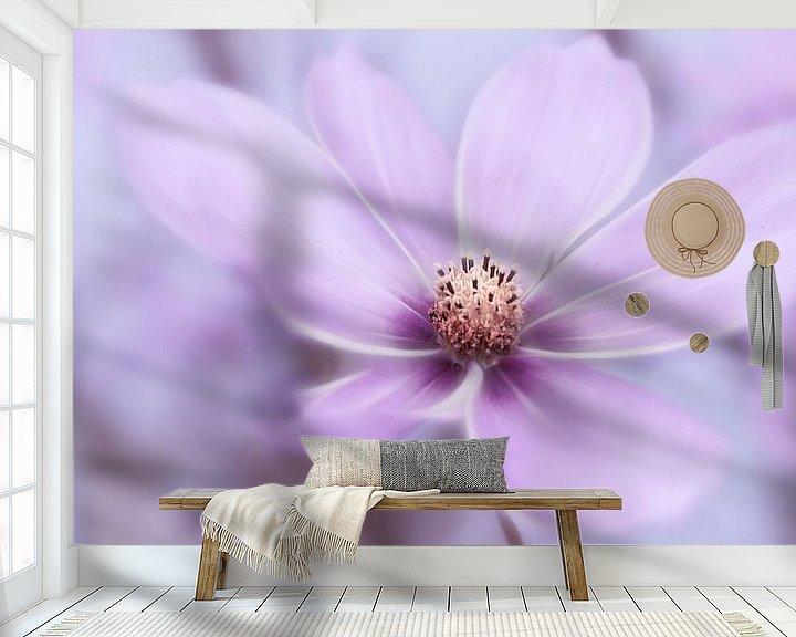 Sfeerimpressie behang: Violet Dream van INA FineArt