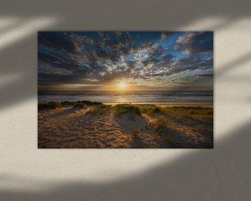 Sonnenuntergang mit besonderer Sonne